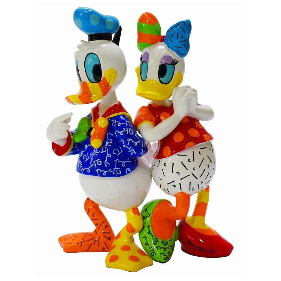 送料無料 Disney Britto Donald And Daisy ドナルド デイジーダック