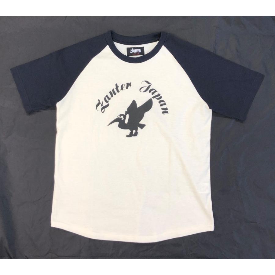 ザンター 6902 プリントラグランTシャツ zanter-shop