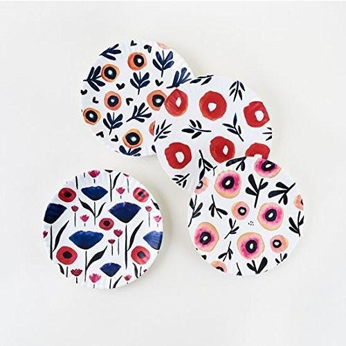 Poppy Plates - Set of Four 9