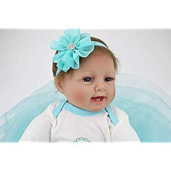 SecretCastle Soft Body Baby Doll 22inch Lifelike Adorable Collectible