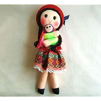 Rag Mom and Baby Doll 10 Inches