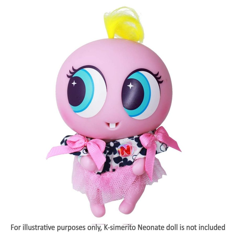 Distroller Ksimerito ピンク Dress w/ ピンク Shawl - Nerlie Neonate Baby Do