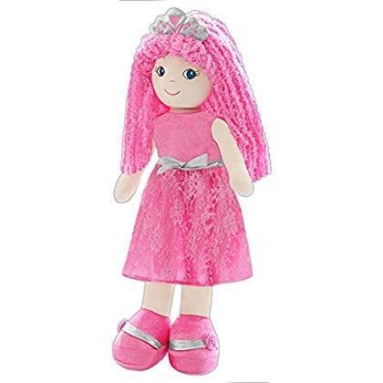 girlzndollz 600552 Life-Size Leila Princess Doll, ピンク, 銀