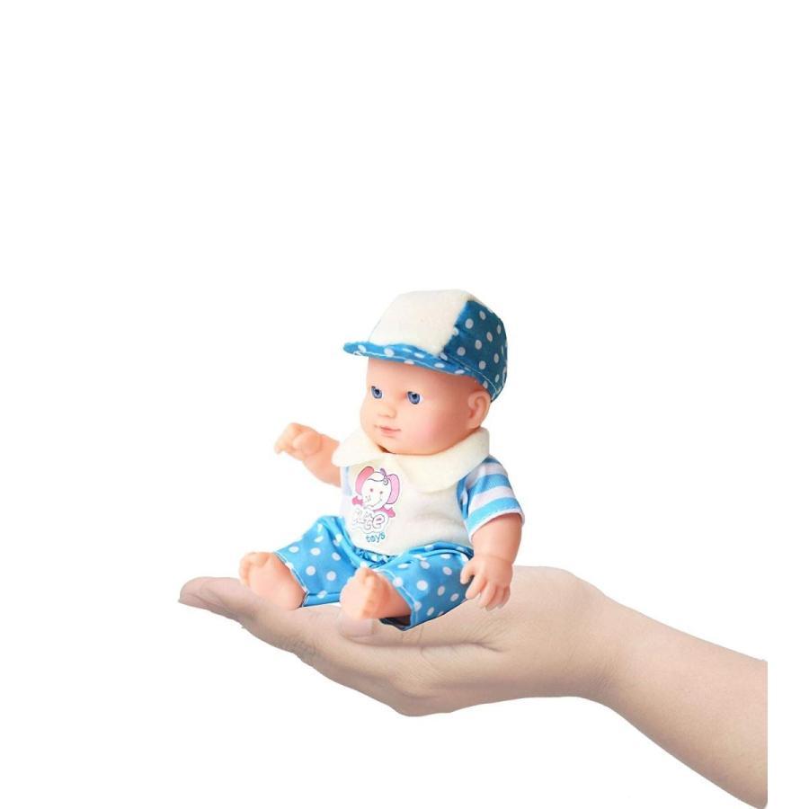 Wonder Cute Little New Born 8 inch Baby Washable Dolls Set of 3