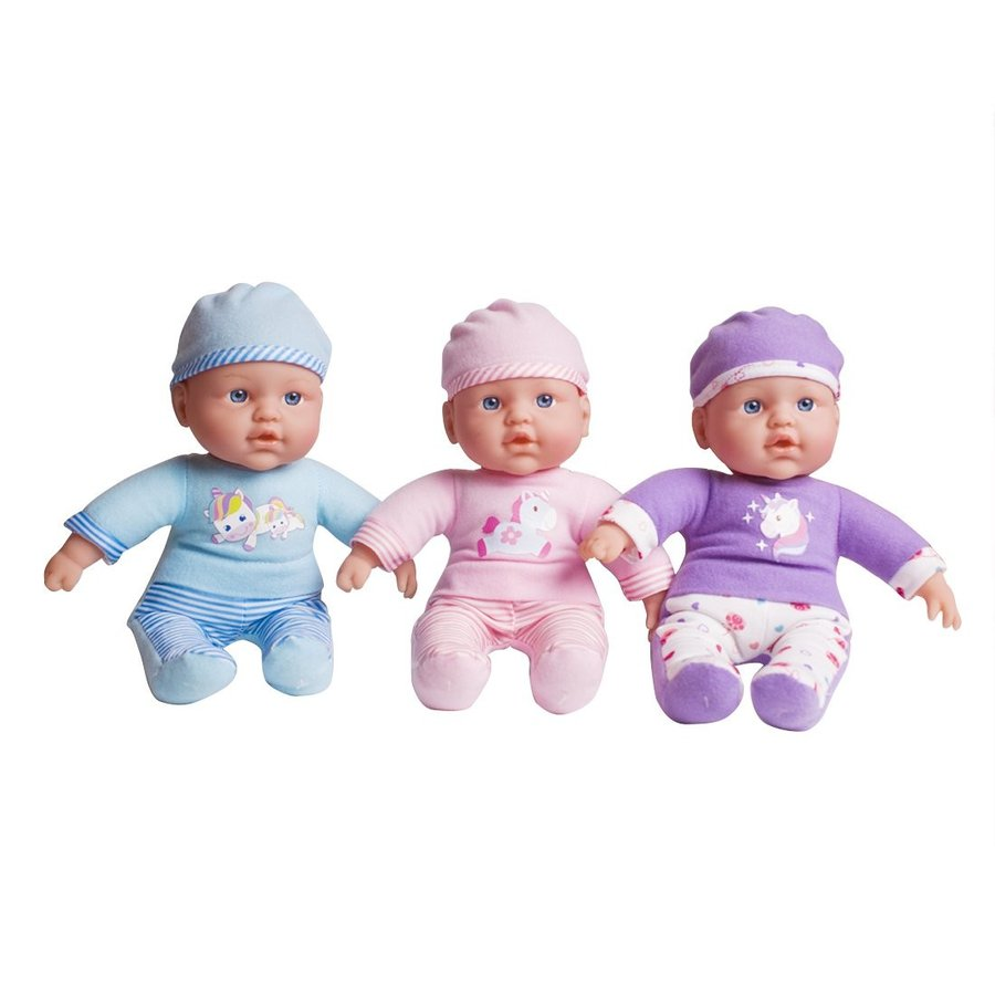 UniM Soft Body Play Doll 12-Inch Baby Doll with Gift Box - For Childre