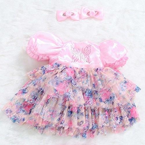 PURSUEBABY 24 Inch Reborn Toddler Princess Girl Clothes, Dancing Butte