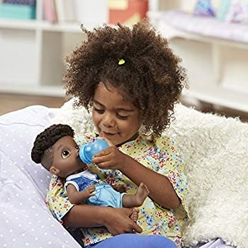 Baby Alive Sweet Spoonfuls Baby Doll Boy (黒 Hair)