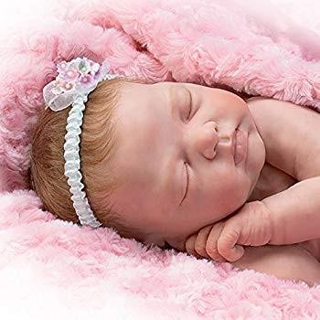 The Ashton - Drake Galleries Bundle Of Love Lifelike Newborn Baby Doll