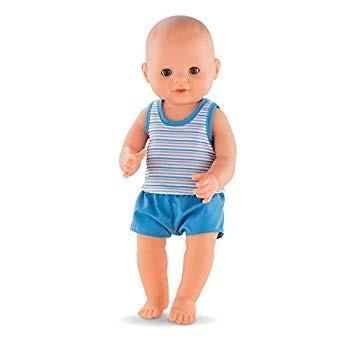 Corolle Mon Grand Poupon Paul Drink &-Wet Bath Baby Toy Baby Doll