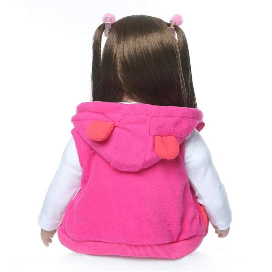 Binxing Toys Reborn Baby Dolls Toddler Realistic Girl 24 Inch 60cm Rea