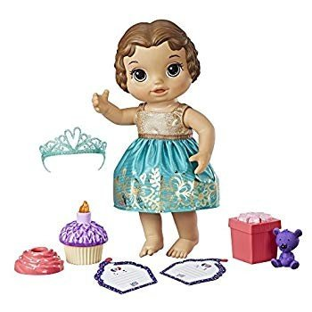 Baby Alive Cupcake Birthday Baby (BR)