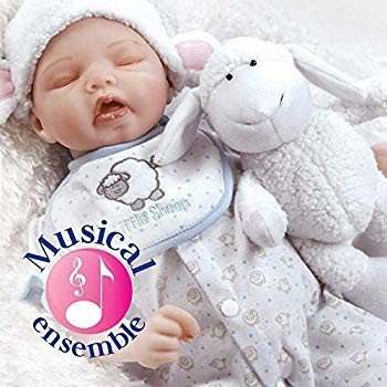 Paradise Galleries Reborn Newborn Baby Doll Sweet Dreams Mary with Sle