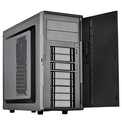 SilverStone Technology SST-CS380B-USA DIY ATX NAS/Server Storage Compu