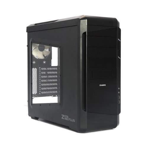 Zalman ATX Mid Tower Case - Black Z12 Plus