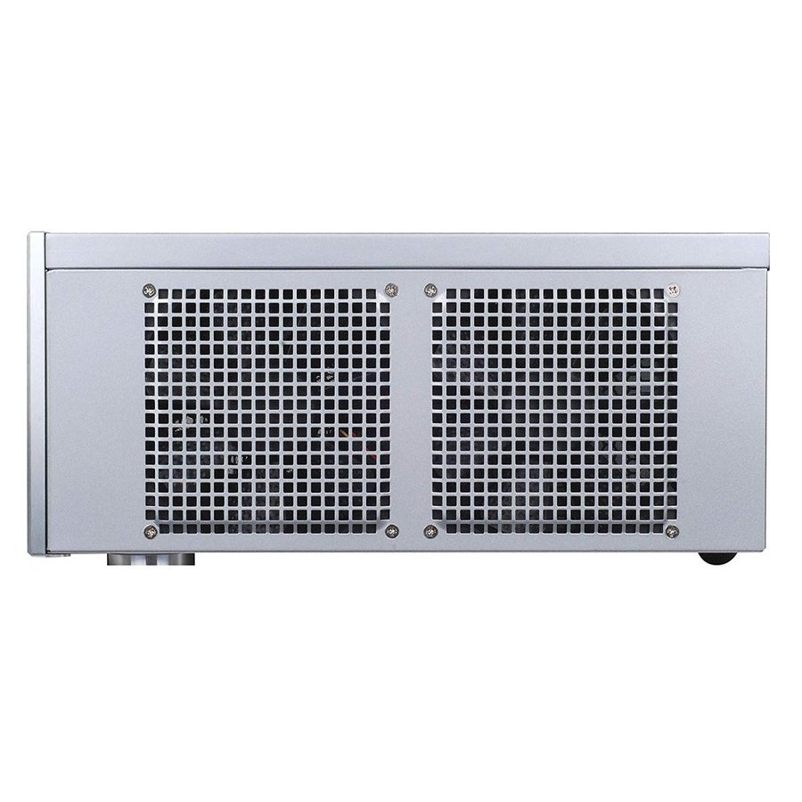 SilverStone Technology Aluminum Front Panel and SECC Body Micro ATX HT