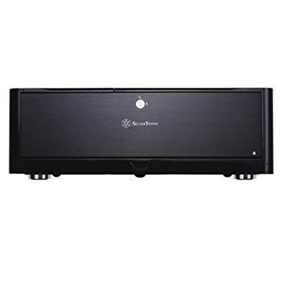 SilverStone Technology HTPC Case with Aluminum Front Panel Micro-ATX,