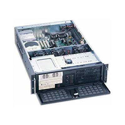 Dynapower EJ-3U6510-C Black Heavy Duty Steel 3U Rackmount Server Case
