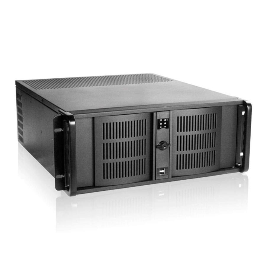 Monoprice 7-Bay 4U IPC Case, 20-inch Depth, Black