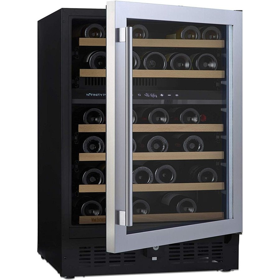 N'FINITY PRO S by Wine Enthusiast · 46 Bottle Dual Zone Built-In or Fr