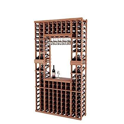 Wine Cellar Innovations Vintner Series Wine Rack Tasting Center with T