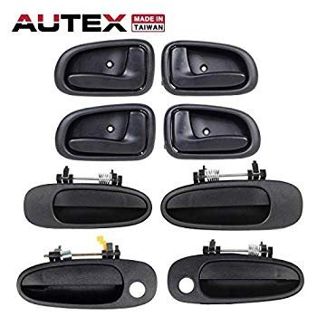 正規品販売! (Passenger 4pcs S (Driver Inner + AUTEX Right Side) Interior Left 4pcs-自動車