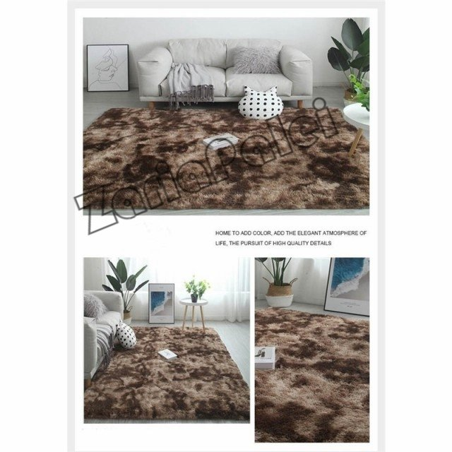 ラグ カーペット 絨毯 オールシーズン 洗える 長方形 滑り止め付き じゅうたん 現代 北欧風ins風 洗濯ok 厚み ふわふわ100*200cm|zariapalei|13