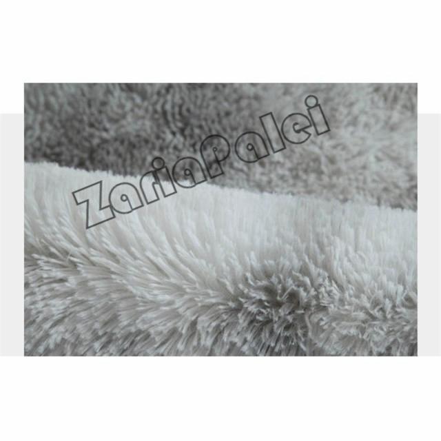 ラグ カーペット 絨毯 オールシーズン 洗える 長方形 滑り止め付き じゅうたん 現代 北欧風ins風 洗濯ok 厚み ふわふわ100*200cm|zariapalei|04