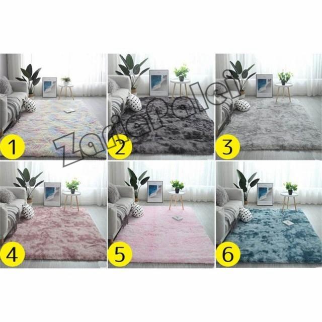 ラグ カーペット 絨毯 オールシーズン 洗える 長方形 滑り止め付き じゅうたん 現代 北欧風ins風 洗濯ok 厚み ふわふわ100*200cm|zariapalei|06