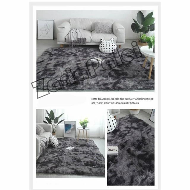 ラグ カーペット 絨毯 オールシーズン 洗える 長方形 滑り止め付き じゅうたん 現代 北欧風ins風 洗濯ok 厚み ふわふわ100*200cm|zariapalei|08