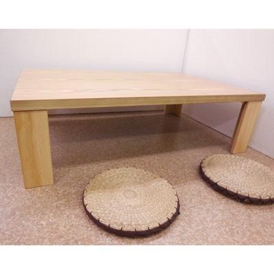 【座卓】超軽量タモ・ナチュラル120折りたたみテーブル|zataku|03