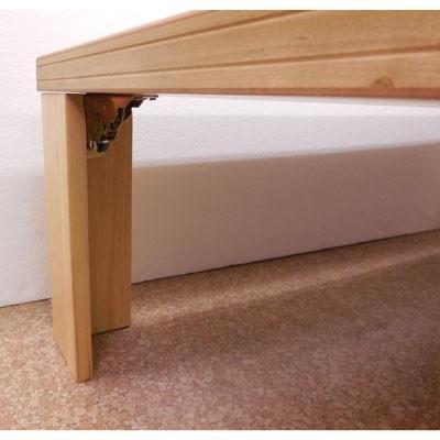【座卓】超軽量タモ・ナチュラル120折りたたみテーブル|zataku|04