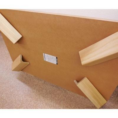 【座卓】超軽量タモ・ナチュラル120折りたたみテーブル|zataku|06