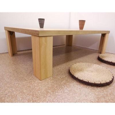 【座卓】超軽量タモ・ナチュラル150折りたたみテーブル|zataku|03
