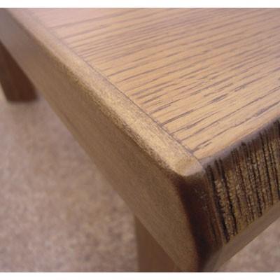民芸ナラ折れ脚テーブル(120cm)|zataku|04