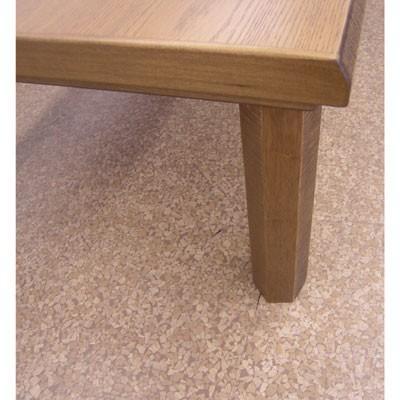 民芸ナラ折れ脚テーブル(120cm)|zataku|05