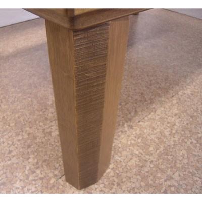 民芸ナラ折れ脚テーブル(120cm)|zataku|06
