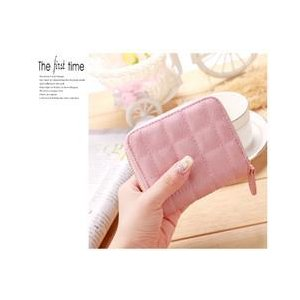 レディース 財布 二つ折り コインケース カードケース ふたつおり おしゃれ おすすめ 人気 かわいい コンパクト ギフト 誕生日 ピンク|zazach