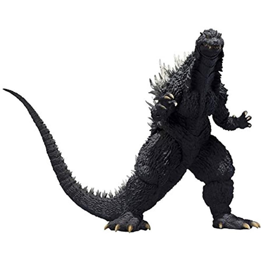 S.H.MonsterArts ゴジラ×メカゴジラ 2002 約155mm PVC&ABS製 塗装済み可動フィギュア[BAN22557]