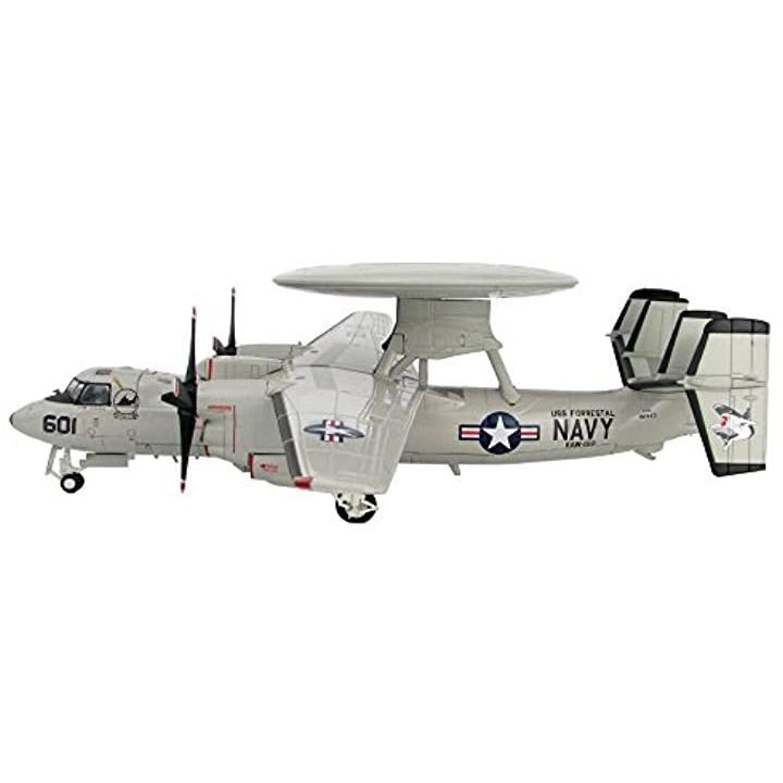 HOBBY MASTER 1/72 E-2C ホークアイ VAW-122 U.S.S.フォレスタル 完成品[HA4810]