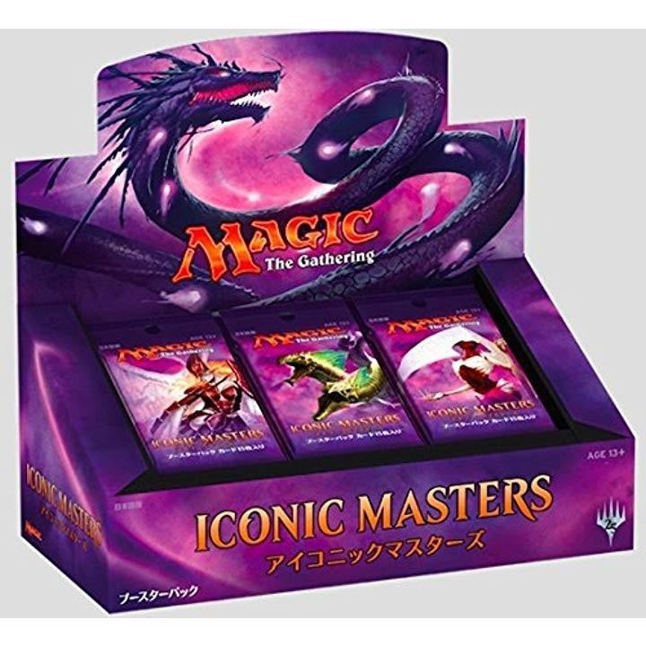 マジック:ザ・ギャザリング 日本語版 アイコニックマスターズ ブースターパック 24パック入りBOX[001]