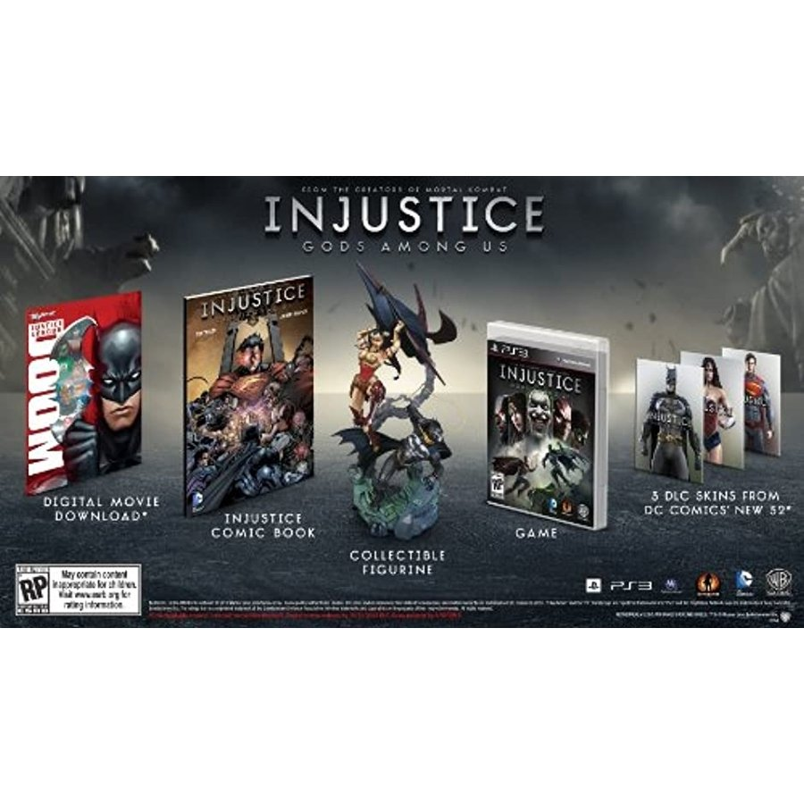 Injustice: Gods Among Collectors Edition[1000362577](Playstation 3)