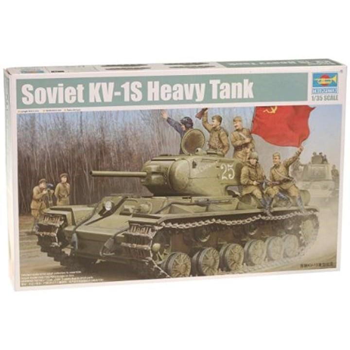 """1/35 ソビエト軍 KV-1S 重戦車 """"スコロツノイ プラモデル[TSM-1566](1枚)"""