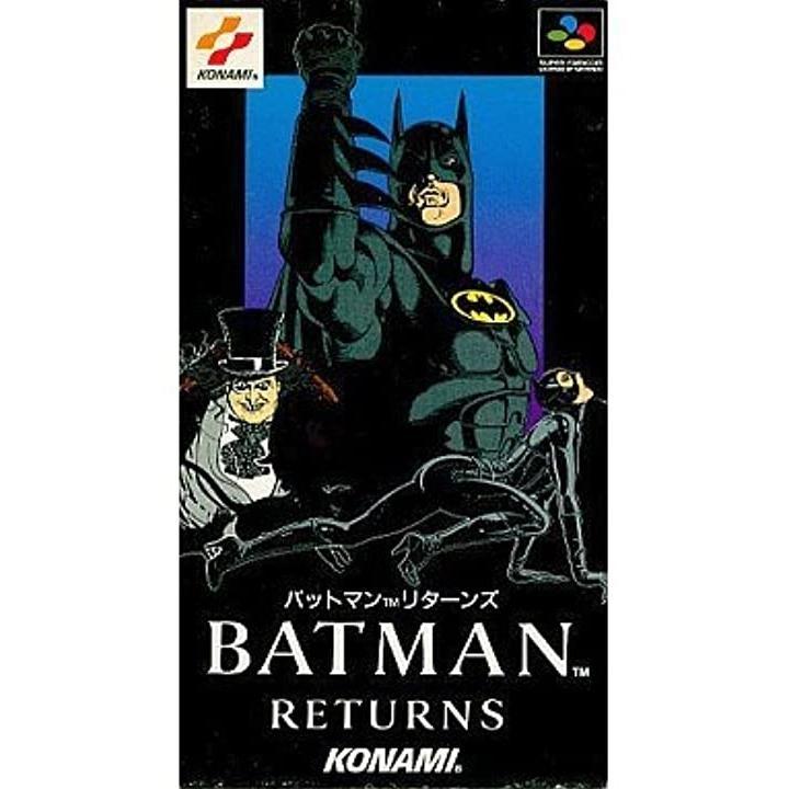 バットマンリターンズ[SHVC-BJ](Nintendo Super NES)