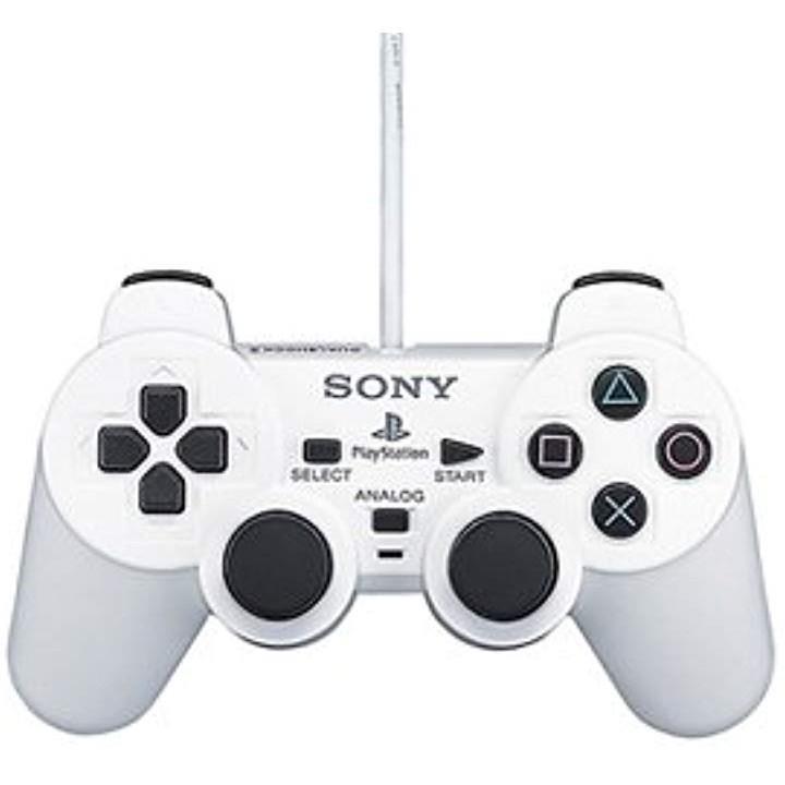 アナログコントローラ DUALSHOCK 2セラミック・ホワイト(セラミックホワイト, Playstation 2)