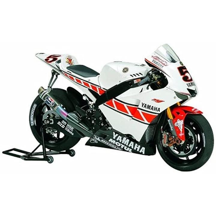 1/12 オートバイシリーズ No.105 ヤマハ YZR-M1 50th アニバーサリー バレンシアエディション プラモデル[14105-000]