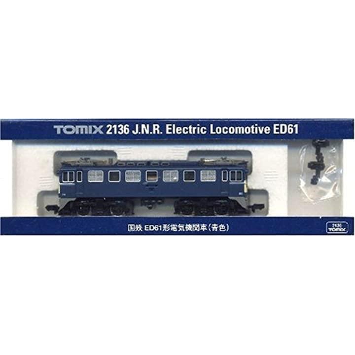 Nゲージ車両 ED61 青色 2136[4904810021360]