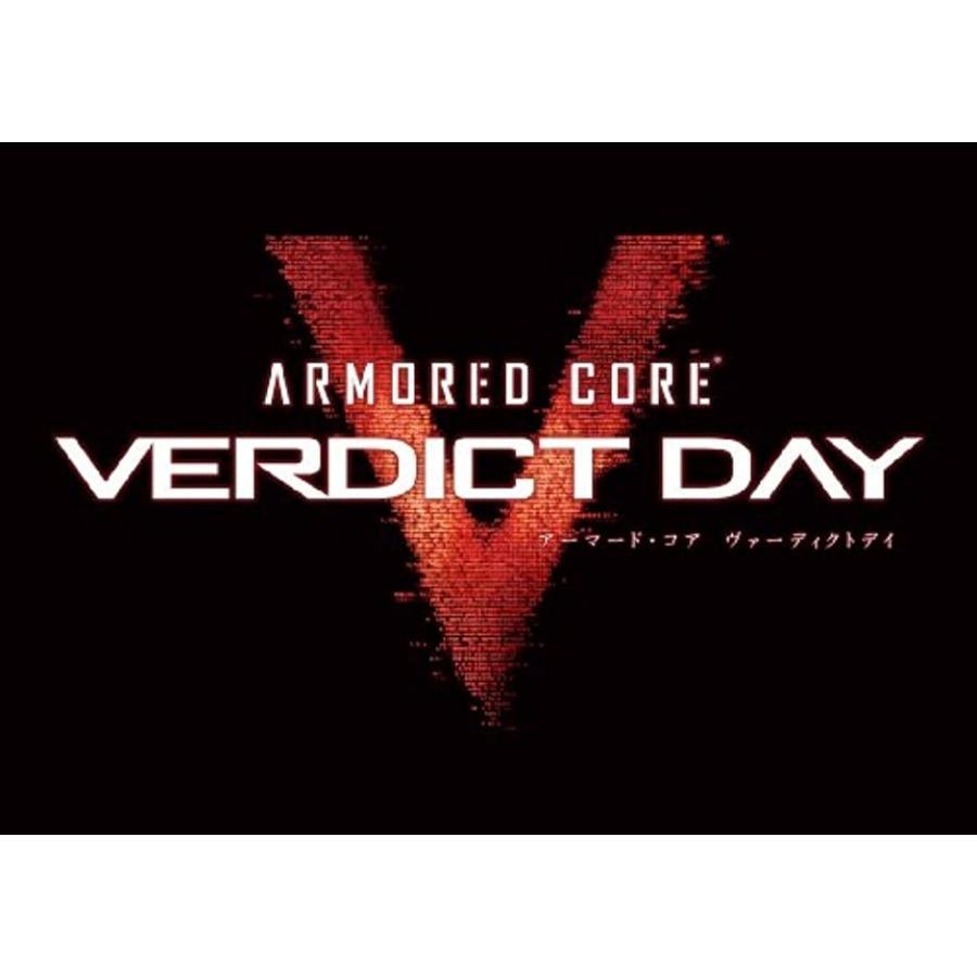 ARMO赤 CORE VERDICT DAY アーマード・コア ヴァーディクトデイ コレクターズエディション -(Xbox 360)