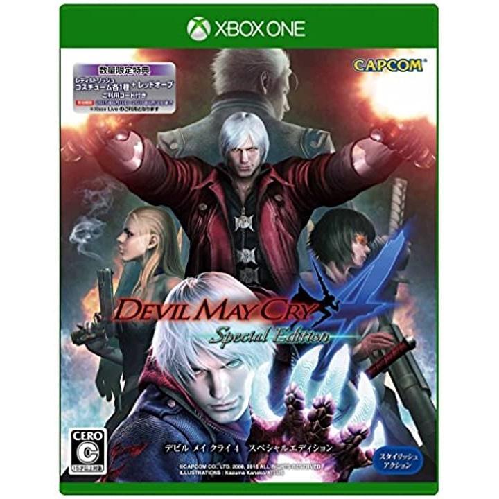 デビル メイ クライ 4 スペシャルエディション - XboxOne[4976219062527](Xbox One)