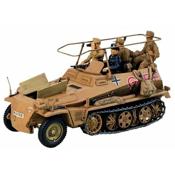 1/35 ミリタリーミニチュアシリーズ No.113 ドイツ Sd.Kfz.250/3 無線指揮車 グライフ 35113[300035113]