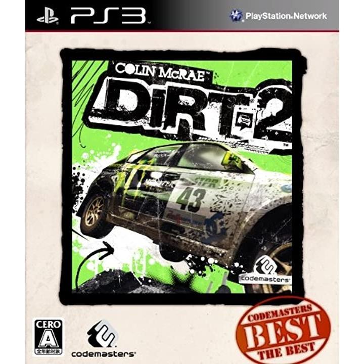 Colin McRae:DiRT 2 「Codemasters THE BEST」 - PS3[BLJM60304]